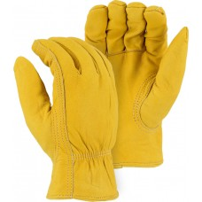 1662 Winter Lined Elkskin Driver Gloves