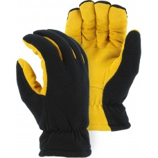 1664 Winter Lined Deerskin Drivers Glove