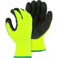 3396HYN Custom Logo Polar Penguin High Visibility Yellow Latex Palm Winter Glove