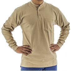 95640K BlazeTex Fire Resistant Knit Long Sleeve Shirt – Khaki