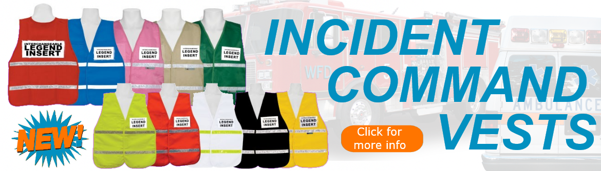 Incident Command Vests