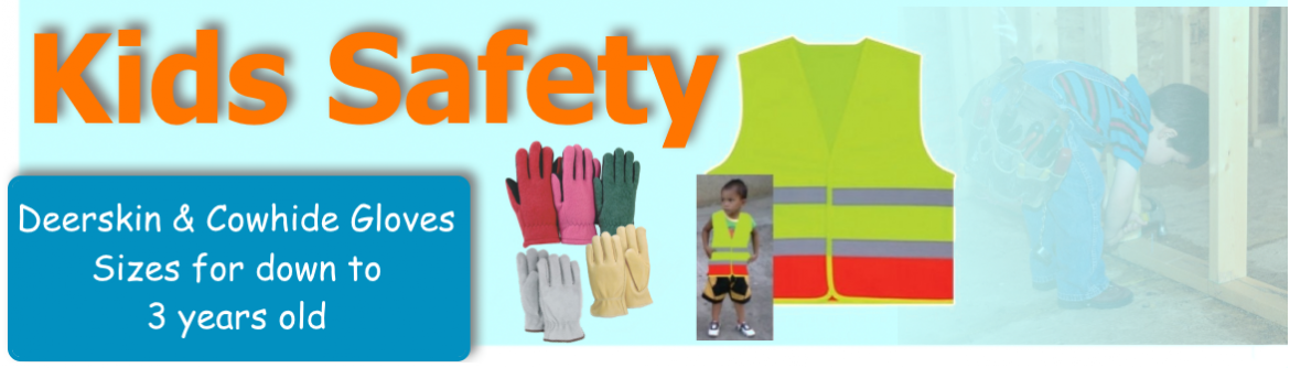 Kids Safety Vests and Gloves