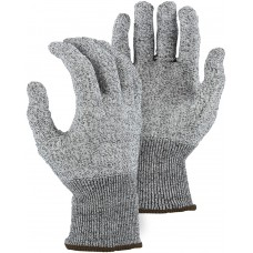 Gray knit, spun mineral infused fiber liner,Ambidextrous,EN cut level 5