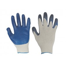 Cotton/Poly Knit - Latex Coated Palm (Blue)
