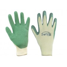 Cotton/Poly Knit - Latex Coated Palm (Green)