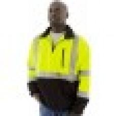 Hi-Viz 1/4 Zip Sweatshirt with TEFLON®, ANSI 3