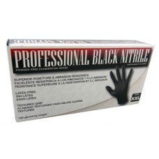 PROFESSIONAL BLACK NITRILE GLOVES