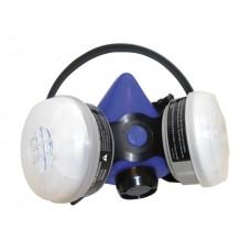 Professional Blue Halfmask Respirator (Organic Vapor/N95 Particulate)Retail Pkg.