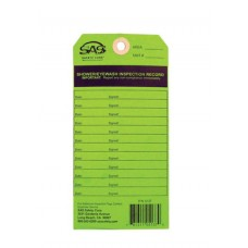 Eyewash Service Tag for 5135