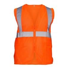 Class 2 Flame Retardant Hi-Viz Safety Vest- Orange