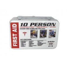 10-Person First-Aid Kit - Metal Box