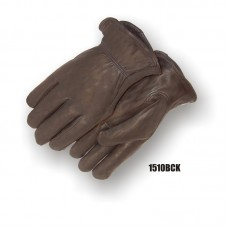 A Grade Camelhide, Keystone Thumb, Shirred Back, Black