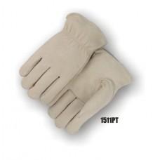 Grain Pigskin, Keystone Thumb, Shirred Back, Thinsulate Lined
