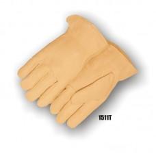 Grain Cowhide, Keystone Thumb, Shirred Back, Thinsulate Lined