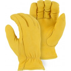 1542 Winter-lined Deerskin Driver Gloves with Pile Lining
