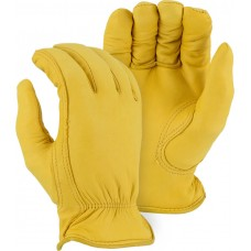 1542T Winter-lined Deerskin Driver Gloves, Thinsulate lining