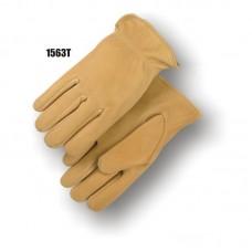 Grain Elkskin, Keystone Thumb, Shirred Back, Thinsulate Lined