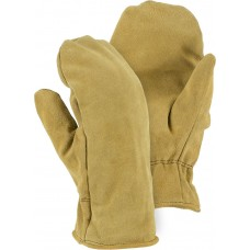 1635 Winter Lined Cowhide Mitten