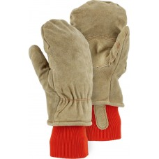 1636 Winter Lined Leather Freezer Mitten with Extra-Thick Insulation