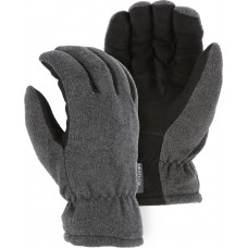 1663 Winter Lined Deerskin Drivers Glove