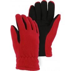 1666 Winter Lined Deerskin Drivers Glove With Fleece Back