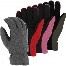 1666 Winter Lined Deerskin Drivers Glove With Fleece Back