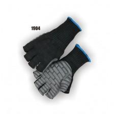 Neoprene Palm On Knit Shell, Anti Vibration, Fingerless