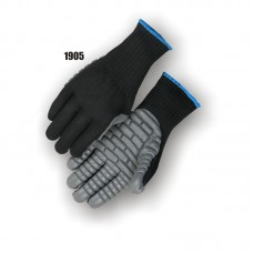 Neoprene Palm On Knit Shell, Anti Vibration, Full Finger, Meets Ansi Specifications