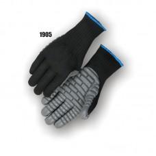 Neoprene Palm On Knit Shell, Anti Vibration, Full Finger, Meets Ansi Specifications