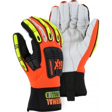 Knucklehead Driller X10 Winter Lined Glove with Cotton Palm and Impact Protection