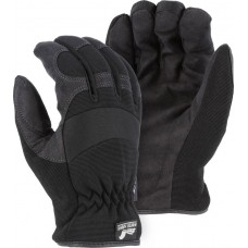 2136BKH Winter Lined Synthetic Leather Mechanics Glove