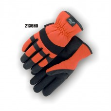 Synthetic Palm, HV Orange Back Slip-On