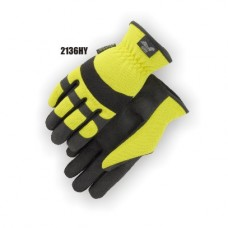 Synthetic Palm, HV Yellow Back Slip-On