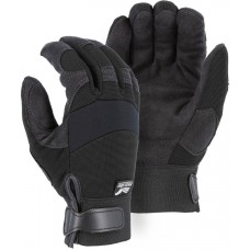 2137BKF Winter Lined Synthetic Leather Mechanics Glove