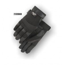 Synthetic, Double Palm, Knit Back, Velcro, Heatlok Black