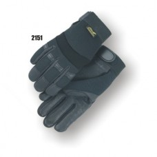 Black Hawk Mechanics Glove with Deerskin Palm and Stretch Knit Back