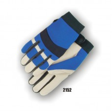 Bald Eagle Mechanics Glove with Pigskin Palm and Stretch Knit Back