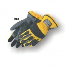 Extrication Glove, Reinforced In Stress Areas, Anti Vibration Reinforced Patches, Short Version