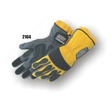 Extrication Glove, Reinforced In Stress Areas, Anti Vibration Reinforced Patches, Long Version