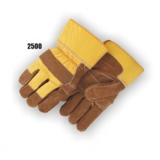 Leather Palm Work Glove – Split Cowhide Double Palm (Large Only)