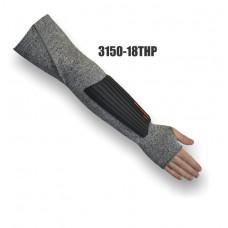 "Medium Weight, Dyneema Sleeve, Single Ply, 18"" Length with forearm TPR pad"