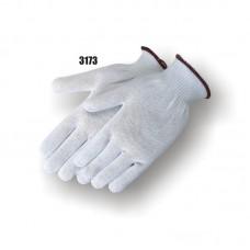 Spectra Knit, Knit Wrist, Medium Weight (10-gauge), White, 3 Pair Per Bag