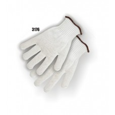 Spectra Knit, Knit Wrist, Extra Heavy Weight (7-gauge), White, 3 Pair Per Bag