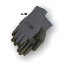 SuperDex, palm coated Gray/Black, dotted