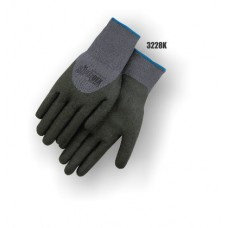 SuperDex, Gray/Black, 3/4 dip, micro-foam nitrile
