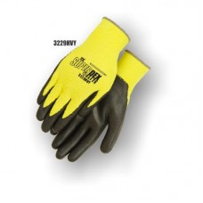 SuperDex Elite, palm coated,medium weight, Yellow/Black