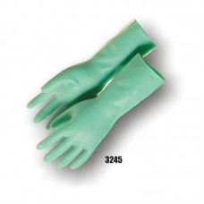 Nitrile, Flock Lined, 13 Inch, 15 Mil, Green