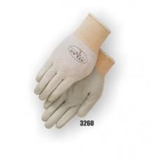 Nitrile palm coated on nylon, white.