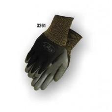 Nitrile palm coated on nylon, black.