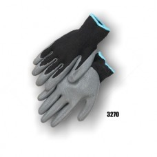 Palm coated on a 13 gauge nylon glove, super durable